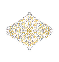 ornamental decorative fram vector image