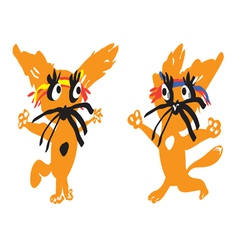 The cats vector