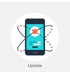 Update vector image vector image