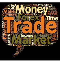 Awesome reasons to trade forex text background vector