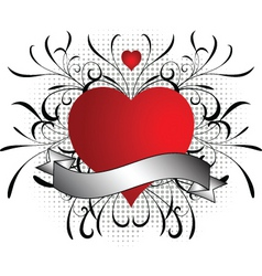valentines abstract vector image