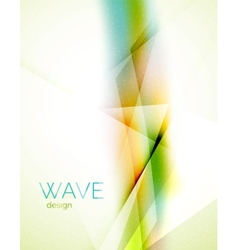 Blur abstract background vector image