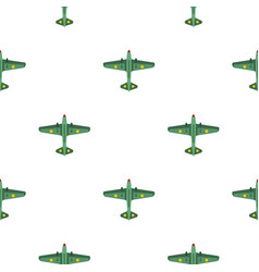 Army fighter pattern flat vector