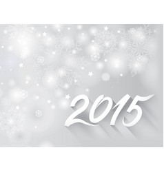 Christmas holiday background snow blurred vector