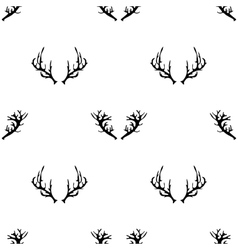 Different Horns Seamless Pattern vector image vector image