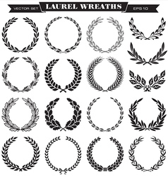 Laurel Wreaths vector image vector image