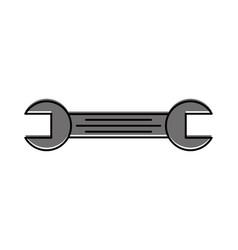 tool wrench repair mechanic equipment icon vector image vector image