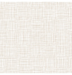 Background With Threads White Brown Linen vector image