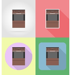 household appliances for kitchen 09 vector image