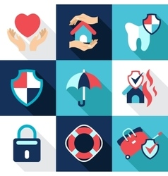 Infographic design elements protect safe health vector