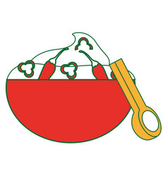 Isolated sauce design vector