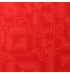 Spiral square background vector image