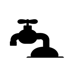 Water faucet icon image vector