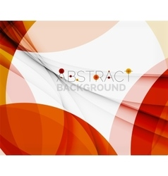 Red abstract shapes background for your message vector