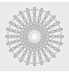 Geometric hipster circle vector