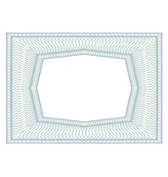 Decorative rectangular frame vector