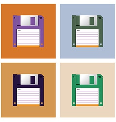 Diskette vector image