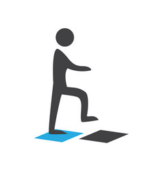 Person walking vector