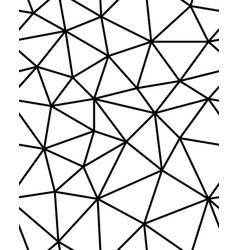 seamless polygonal pattern vector image vector image