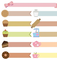 Tag bakery vector