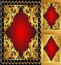 Ornamental frames vector