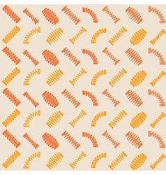 Seamless pattern with springs vector