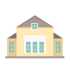 cottage and assorted real estate building icon vector image vector image