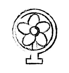 Fan appliance air electricity equipment sketch vector