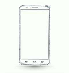 New smartphones vector