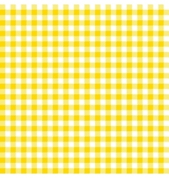 Orange checkered tablecloths patterns vector