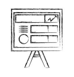 Paper board vector