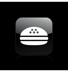 sandwich icon vector image vector image