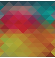 Triangle neon seamless background vector image