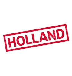 Holland rubber stamp vector