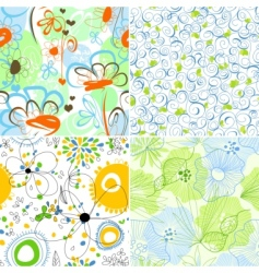 Floral wallpapers vector