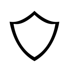 Black shield icon image design vector