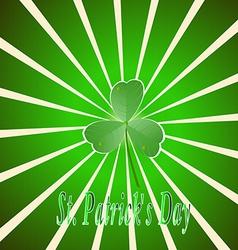 Decor Ireland Culture Leprekon Leaf Mart Celebrati vector image