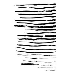 Ink brushes set vector