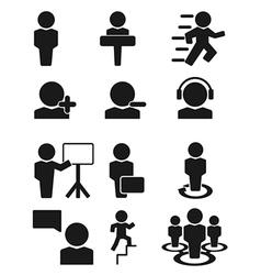Man person people icon vector image vector image