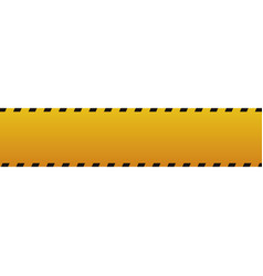 Police yellow tape vector