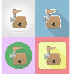 household appliances for kitchen 10 vector image