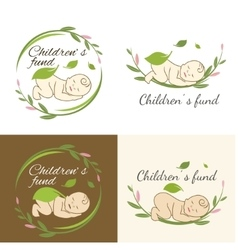children fund vector image
