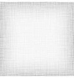 Background with threads white gray linen vector
