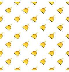 Yellow scoop for cleaning pattern vector