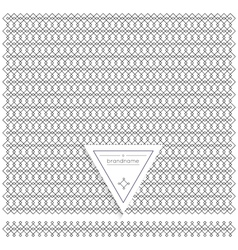 Backgound of line geometric hipster vintage design vector