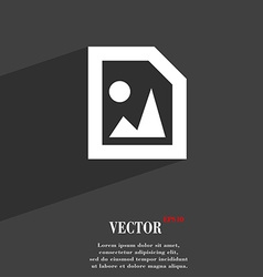 File jpg icon symbol flat modern web design with vector