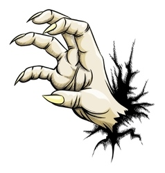 Grabbing hand vector