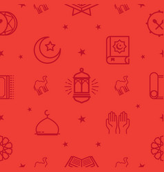 Ramadhan kareem pattern vector