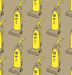Sketch vacuum cleaner vector