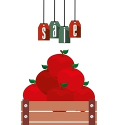 Sale of farm products vector